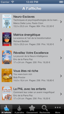 app catalogue macro editions - titre phare